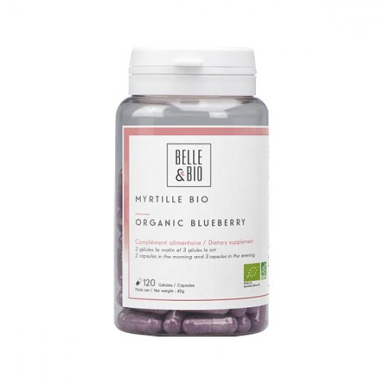 Myrtille Bio 120 gélules - Protection de l'œil Complément Alimentaire Bio