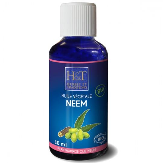 Huile de Neem (Margousier) 50 ml - Régénérante - Visage et Cheveux