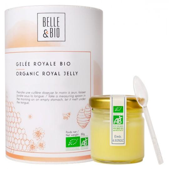 Gelée Royale Bio 100% - Pot de 25 Grammes