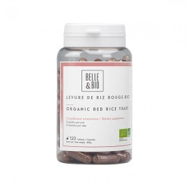 Levure de riz rouge Bio 120 Gélules -  0,40 % Monacoline K