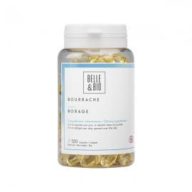 Huile de Bourrache bio 120 capsules - Beauté et qualité de la peau