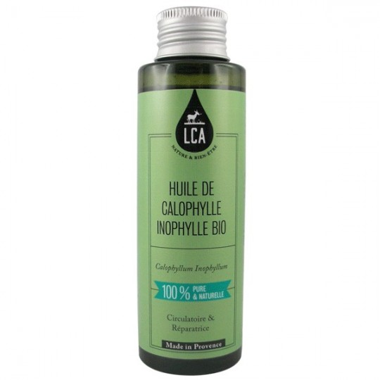 Huile de Calophylle 100 ml - Apaisante et Réparatrice
