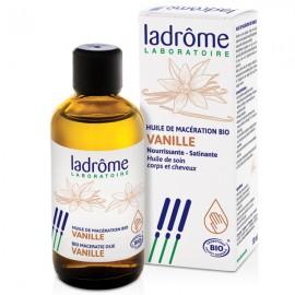 Huile de vanille Bio 50 ml - Nourrissante pour cheveux secs