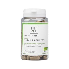 Thé Vert Bio 120 gélules - Brûle des graisses