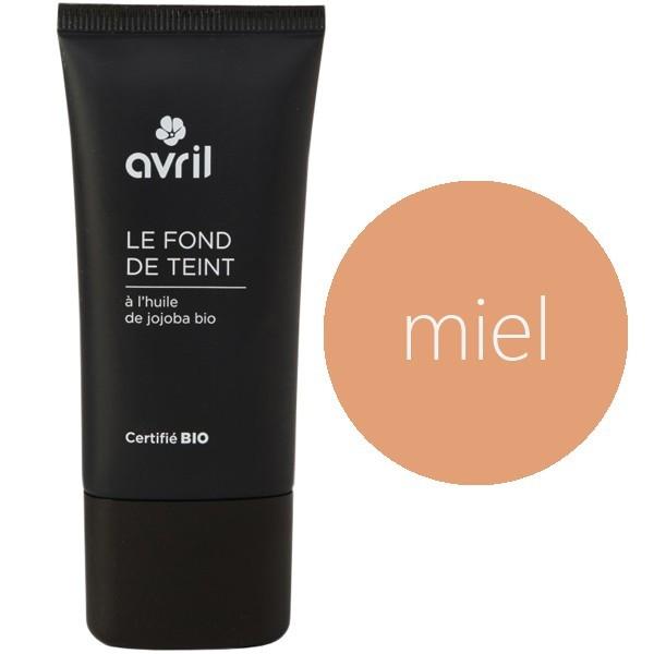 avril maquillage fond de teint bio liquide effet seconde peau teinte miel 30 ml. Black Bedroom Furniture Sets. Home Design Ideas