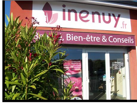Boutique de cosmétiques bio et naturelles à Andernos-les-bains, inenuy