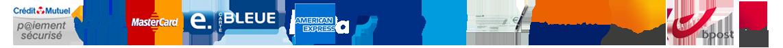 Inenuy.fr s'appuie sur des partenaires fiables et professionnels pour la sécurisation des paiements par carte bancaire ou par Paypal mais aussi pour les transports de vos colis avec La Poste, Mondial Relay, Bpost et DPD.