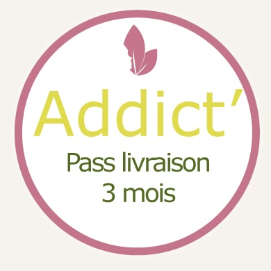 Addict' Pass Livraison 3 mois
