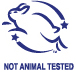Non testé sur animal