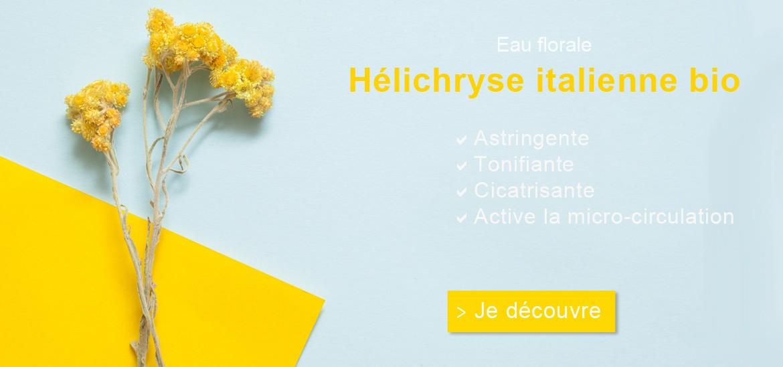 Eau Florale d'Hélichryse Italienne (Immortelle) - Anti-rougeurs