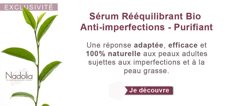 Sérum Rééquilibrant Bio Anti-imperfections 30 ml - Purifiant
